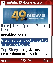 KTKA breaking news homepage