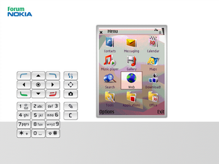 RDA home screen